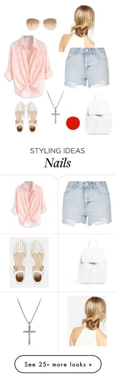 """Untitled #233"" by baloure on Polyvore featuring ASOS, David Yurman, Topshop, Lane Bryant, Mansur Gavriel and Christian Louboutin"