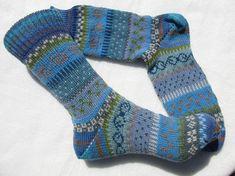 Bunte Socken Agda Gr. 39/40
