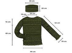 Receitas de Crochet: Blusa