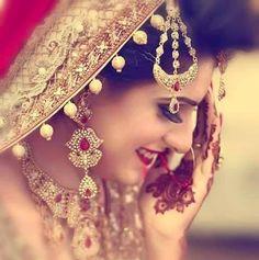 #Sara Cute Girl Pic, Cute Girls, Bridal Photography, Photography Poses, Asian Bride, Bride Makeup, Wedding Pics, Wedding Stuff, Traditional Wedding