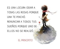 imagenes con frases de el principito - Buscar con Google Wall Quotes, True Quotes, Book Quotes, Famous Phrases, Life Words, Good Notes, The Little Prince, Morning Wish, Love Messages