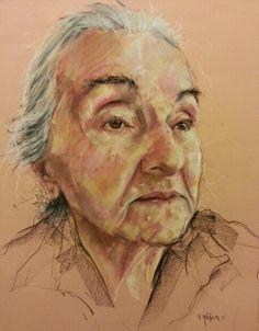 Sena Yıldırım - Soft Pastel Portrait  #art #artist #Portrait #paint #drawing #sanat