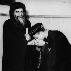 With Father Bishoy Kamel