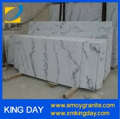 China Guangxi White marble slab