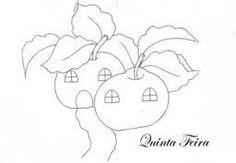 Resultado de imagem para legumes em forma de casinhas para pinturas