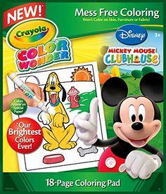 Crayola Color Wonder Disney Preschool Coloring Pad Crayola