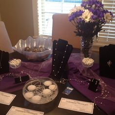 Pearl party!! Open an oyster, get a pearl, then pick what jewelry setting you want it in. Vantel pearls! Check it out.