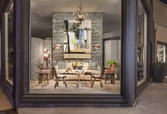 Sydney Harbour Paint Company, window designed by CLOTH & KIND for #LEGENDS2014 #LCDQLA