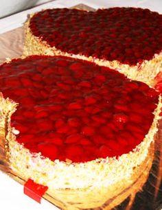 Hochzeitstorte Kleines Erdbeerherz Wedding Cake Fruity But