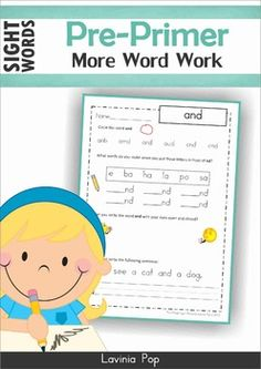 Sight WordsSight Words - More Word Work (Pre-Primer)** Great news! ** ::::: The Sight Words Pre-Primer MEGA BUNDLE is now available for purchase here ::::::::: Save SUPER BIG and with the Sight Words SUPER BUNDLE! :::::About this book:This book contains a collection of pre-primer sight words word work pages intended for use with children in Kindergarten (Prep) and Grade 1.