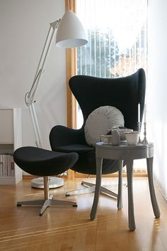 Oh The Egg Chair...lovely Corner