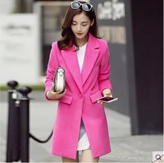 TP1141 Free shipping Cheap wholesale 2016 new Autumn Winter Hot selling women's fashion casual warm jacket female bisic coats #Affiliate
