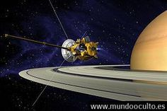 La sonda Cassini graba un sonido entre Saturno y sus anillos