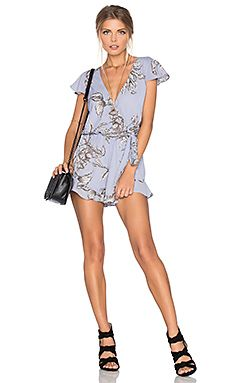 Shop for Tularosa Ashby Romper in Chambray at REVOLVE. Free 2-3 day shipping and returns, 30 day price match guarantee.