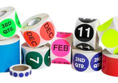 Very useful inventory labels! Shrink Film, Shipping Supplies
