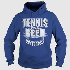 #TENNIS and Beer shirts and Hoodie, Order HERE ==> https://www.sunfrog.com/Sports/122022312-639485126.html?89699, Please tag & share with your friends who would love it, #christmasgifts #jeepsafari #renegadelife