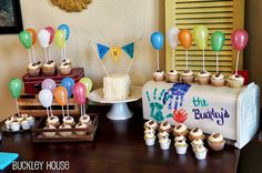 housewarming token of appreciation! a large number of handmade, old, and distinct items and presents linked to your look. 1 Year Old Birthday Party, Second Birthday Ideas, 1st Boy Birthday, First Birthday Parties, Birthday Party Themes, First Birthdays, Housewarming Party Themes, Up Theme, Childrens Party