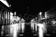 View pictures and order prints by David Costello Christmas Night, Dublin Ireland, Bustle, Abandoned, Magic, Lights, Street, Pictures, Photography