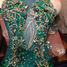 Working late and working hard!!! Almost done!! #ballroomdance #ballroomdress #swarovski #blingbling #loveloraine