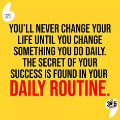 You'll never change your life until you change something you do daily. The secret of your success is found in your daily routine. #routine #skincare #fitness #beauty #workout #love #motivation #selfcare #lifestyle #skincareroutine #health #gym #exercise #life #makeup #covid #instagood #fit #quarantine #training #morning #healthylifestyle #healthy #selflove #daily #yoga #fitnessmotivation #fitlife #fitfam #kind