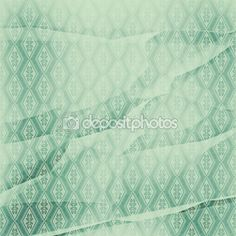 Download - Wrinkled wall-paper, with a pattern rhombuses, turquoise — Stock Image #116490762