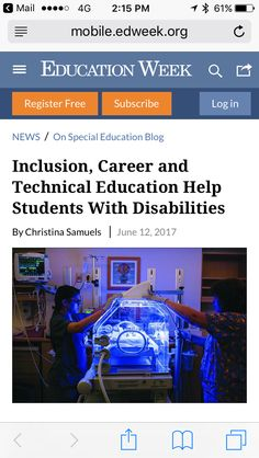 Education Week, Special Education, Inclusive Education, Inclusion Classroom, Student