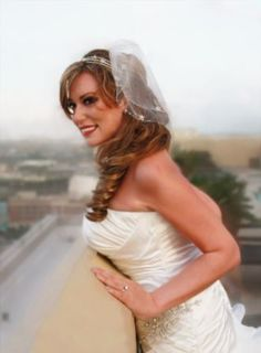 Wedding Tiara Headband Swarovski Crystal Endless Love $50.00 by My Texas Treasure's Booth
