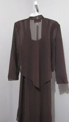 bec98f858ac Ursula of Switzerland brown in color size 14 --Mother of the Bride nwt  2piece