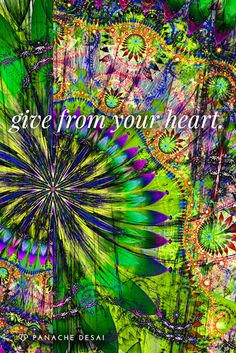 Give someone a gift today without expectation and watch how your energy shifts.
