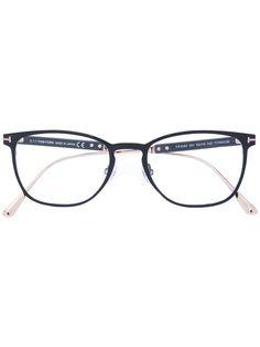 2aa2e1c2a4c8 TOM FORD EYEWEAR round thin frame glasses.  tomfordeyewear