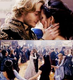 mary and francis wedding on reign. AWEEE they look so cute omg