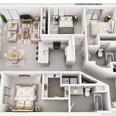 Luxury West Hollywood Apartment on La Brea Sims House Plans, House Layout Plans, Dream House Plans, Modern House Plans, House Layouts, Small House Plans, House Floor Plans, Sims 4 Houses Layout, Apartment Layout
