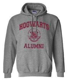 Hogwarts Alumni Harry Potter Geek Parody Pullover by trendingwear, $30.99