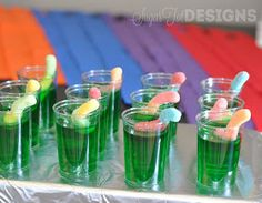 sugartotdesigns: Teenage Mutant Ninja Turtle Party @Leanne girard cute treat for brode if he decides on TMNT