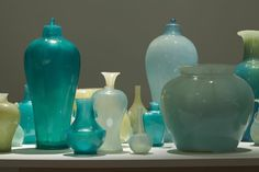 This collection of Soap vases titled 'Translation - Ghost Series' by Meekyoung Shin will be included in the solo exhibition 'Meekyoung Shin's Cabinet of Curiosities' in our Main Gallery from 26th July 2014...