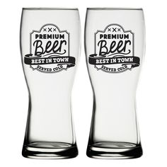 iStyle Craft Beer Glass (Set of 2)