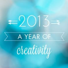 Rediscover craft, and pledge to make 2013 a Year of Creativity! Sign up and we'll send you a spark of inspiration every Friday for free!