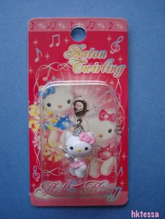 Hello Kitty Baton Twirling limited mascot-2006.  Love this to remember my Majorettes days  :)