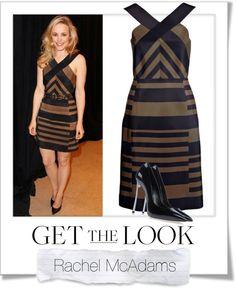 """Get The Look - Rachel McAdams"" by renatademarchi ❤ liked on Polyvore"