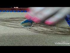 Collar MACRAME, PARTE 1 - YouTube Macrame Knots, Macrame Bracelets, Collar Macrame, Micro Macramé, Pomegranates, Paracord, Beading, Jewel, Tejidos