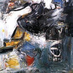 Milton Resnick - WG, 1957, oil on canvas, 68 x 66 inchesy