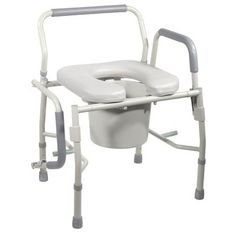 Aluminum Shower Commode Mobile Chair | Bathroom Safety Equipment ...
