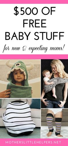 Here's how to get free baby stuff for new and expecting moms - baby gear you'd most likely have on your baby registry or get as a baby shower gift anyway.  Give yourself a financial break and use these free baby coupons grab your baby freebies today!  #babyfreebies #babystuff #freebies #babygear #coupons