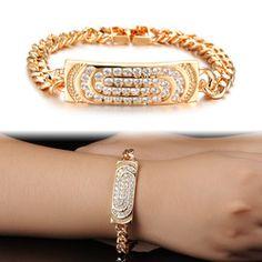 Luxury Crystal CZ Women's Bracelet Accessories KS