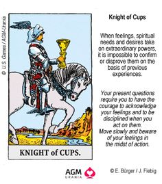 7 Best Knight of Cups Tarot images in 2017 | Knight of cups