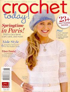 Crochet Today May June - 2012la jupe rouge, mmmmm! <3