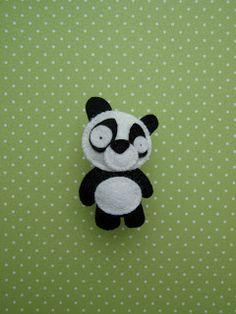 Filtdyr - panda - set på bloggen Håndarbejdsom