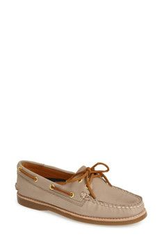 Sperry 'Authentic Original - Gold Cup' Leather Boat Shoe (Women)