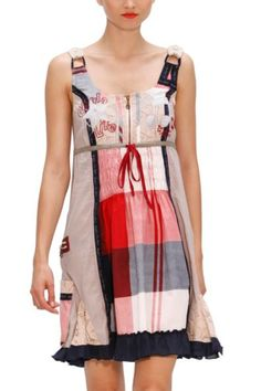 2. Patchwork dress