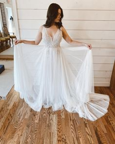 Unique affordable wedding dresses #MaggieSottero #wedding #weddingdress #weddinginspo #weddinginspiration #uniqueweddingdress #affordableweddingdress Affordable Wedding Dresses, Unique Weddings, Maggie Sottero Wedding Dresses, Bridal Musings, Bridal Boutique, Tulle Dress, Chic Outfits, Wedding Inspiration, Bridal Gowns
